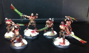 Khador doom reavers commission March 2014